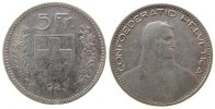 5 Franken 1923 Schweiz Ag HMZ 1199, kleiner Randstoß ss  45,00 EUR  zzgl. 3,95 EUR Versand