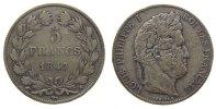 5 Francs 1847 Frankreich Ag Louis Philippe I, A (Paris), kleine Randstö... 33,50 EUR  zzgl. 3,95 EUR Versand