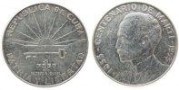 1 Peso 1953 Kuba Ag Jose Marti vz  39,50 EUR  zzgl. 3,95 EUR Versand