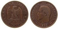 Frankreich - France 5 Centimes Br Napoleon III, A (Paris)