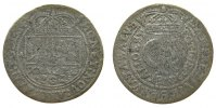Polen - Poland 1 Gulden Ag Johann Casimir (1649-1668), Timpfe, AT