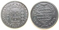 960 Reis 1814 Brasilien Ag Joao VI als Prinzregent, Bahia, Patagon, ca.... 225,00 EUR  zzgl. 6,00 EUR Versand