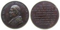 Medaille 1873 Vatikan Bronze Pius IX (1846-78), AN XXVII, Brustbild nac... 162,50 EUR  zzgl. 6,00 EUR Versand