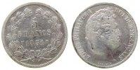 5 Francs 1831 Frankreich Ag Louis Philippe I, W (Lille) schön +  39,50 EUR  zzgl. 3,95 EUR Versand