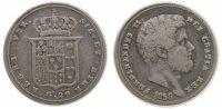 1 Tari / 20 Grana 1858 Neapel u. Sizilien Ag Ferdinando II, kleiner Ran... 105,00 EUR  zzgl. 6,00 EUR Versand