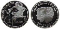10 Euro 2004 Spanien Ag Olympiade Athen - Hürdenläufer, winziger Fleck ... 32,00 EUR  zzgl. 3,95 EUR Versand