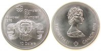 10 Dollar 1974 Kanada Ag Olympiade Montreal, Zeus, 44,955 Gramm Silber ... 37,50 EUR  zzgl. 3,95 EUR Versand