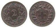 2 Rappen 1910 Schweiz Br etwas fleckig vz+  78,50 EUR  zzgl. 6,00 EUR Versand