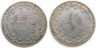 20 Kurus 1917 Türkei Ag Mohammed V (1909-18), AH1327/9 ss+  45,00 EUR  zzgl. 3,95 EUR Versand