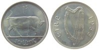 1 Shilling 1955 Irland KN Stier stgl-  37,50 EUR  zzgl. 3,95 EUR Versand