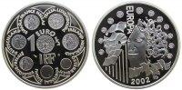 1 1/2 2002 Frankreich Ag Europäische Währungsunion pp  33,50 EUR  zzgl. 3,95 EUR Versand