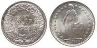 1/2 Franken 1921 Schweiz Ag HMZ 1206 unz  45,00 EUR  zzgl. 3,95 EUR Versand
