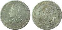 1 Peso 1904 El Salvador Ag Kolumbus, C.A.M. ss  95,00 EUR  zzgl. 6,00 EUR Versand