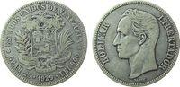 5 Bolivares 1929 Venezuela Ag Bolivar ss  34,50 EUR  zzgl. 3,95 EUR Versand