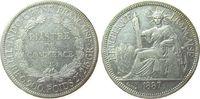 Piaster 1887 Französisch Indochina Ag Lec. 268, KM 5 ss+  165,00 EUR  zzgl. 6,00 EUR Versand