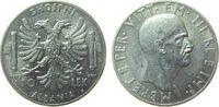 10 Lek 1939 Albanien Ag Vittorio Emmanuel III vz  130,00 EUR  zzgl. 6,00 EUR Versand