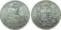1 Sol 1894 Peru Ag sitzende Freiheit vz-unc  69,50 EUR  zzgl. 6,00 EUR Versand