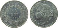 50 Centimes 1850 Frankreich Ag Ceres, A (Paris) vz+  125,00 EUR  zzgl. 6,00 EUR Versand