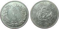 50 Sen 1898 Japan Ag Mutsuhito (1867-1912), Jahr 31, etwas berieben vz  60,00 EUR  zzgl. 6,00 EUR Versand