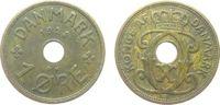 1 Öre 1928 Dänemark Br Christian X, N ss  1,00 EUR