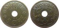 5 Öre 1928 Dänemark Br Christian X, N ss  1,00 EUR