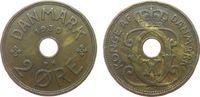 2 Öre 1930 Dänemark Br Christian X ss  1,75 EUR