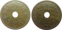 5 Öre 1930 Dänemark Br Christian X ss  1,25 EUR