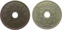1 Öre 1933 Dänemark Br Christian X ss  1,50 EUR