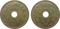 2 Öre 1935 Dänemark Br Christian X ss  1,00 EUR