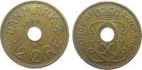2 Öre 1936 Dänemark Br Christian X ss  1,00 EUR