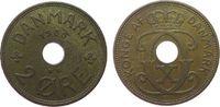 2 Öre 1936 Dänemark Br Christian X vz-unc  4,50 EUR