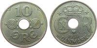 10 Öre 1936 Dänemark KN Christian X ss  3,00 EUR