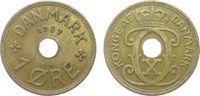 1 Öre 1937 Dänemark Br Christian X ss  1,00 EUR
