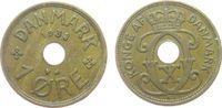 1 Öre 1938 Dänemark Br Christian X ss  1,00 EUR