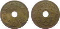 2 Öre 1938 Dänemark Br Christian X ss  1,00 EUR
