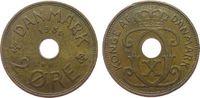 2 Öre 1939 Dänemark Br Christian X ss  1,00 EUR