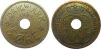 5 Öre 1939 Dänemark Br Christian X ss  1,00 EUR