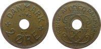 2 Öre 1940 Dänemark Br Christian X ss  1,00 EUR