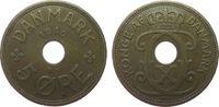 5 Öre 1940 Dänemark Br Christian X ss  1,00 EUR