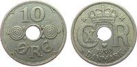 10 Öre 1940 Dänemark KN Christian X ss  1,50 EUR