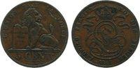 5 Centimes 1848 Belgien Ku Leopold ss  33,50 EUR
