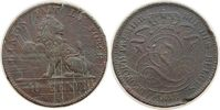 10 Centimes 1848 Belgien Ku Leopold I, viele feine Kratzer schön  25,00 EUR