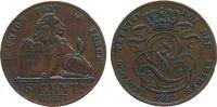 5 Centimes 1850 Belgien Ku Leopold, kleine Randstöße ss  22,50 EUR