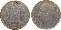 5 Francs 1851 Belgien Ag Leopold I, mit Punkt über Datum, kleine Randfe... 50,00 EUR