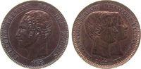 10 Centimes 1853 Belgien Ku Leopold I, auf die Hochzeit, von Leopold Wi... 72,50 EUR
