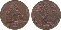 5 Centimes 1857 Belgien Ku Leopold I vz+  150,00 EUR