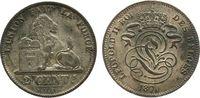 2 Centimes 1870 Belgien Ku Leopold II, große 7 in 1870, versilbert, kle... 11,50 EUR