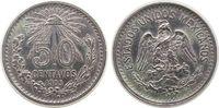 50 Centavos 1905 Mexiko Ag Adler, kleiner Randstoß ss+  39,50 EUR