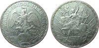 1 Peso 1911 Mexiko Ag Unabhängigkeit ss+  47,50 EUR