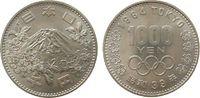 Japan 1000 Yen 1964 stgl Ag Olympische Spiele 30,00 EUR  plus 8,00 EUR verzending